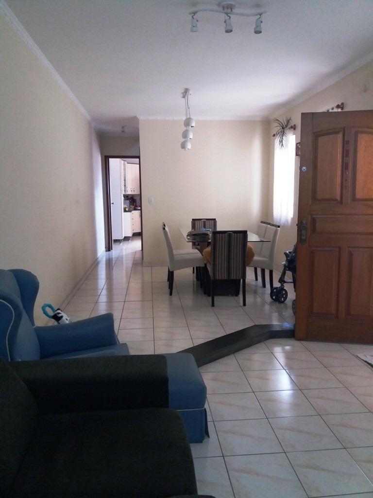 lindo sobrado com 3 dormitórios - vila antônio - ref 76776