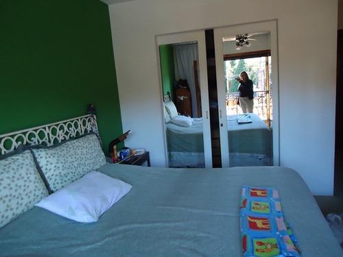 lindo sobrado com 4 dormitórios, piscina. telma 45793