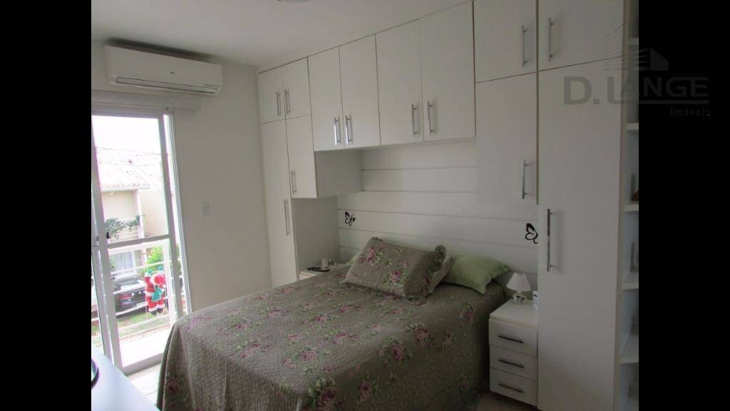 lindo sobrado em agradável condomínio no parque são quirino. - ca11391
