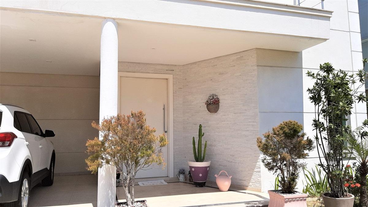 lindo sobrado em condomínio de alto padrão lorian boulevard, cidade são francisco, com acabamento de extrema qualidade. - ca00004 - 34596201