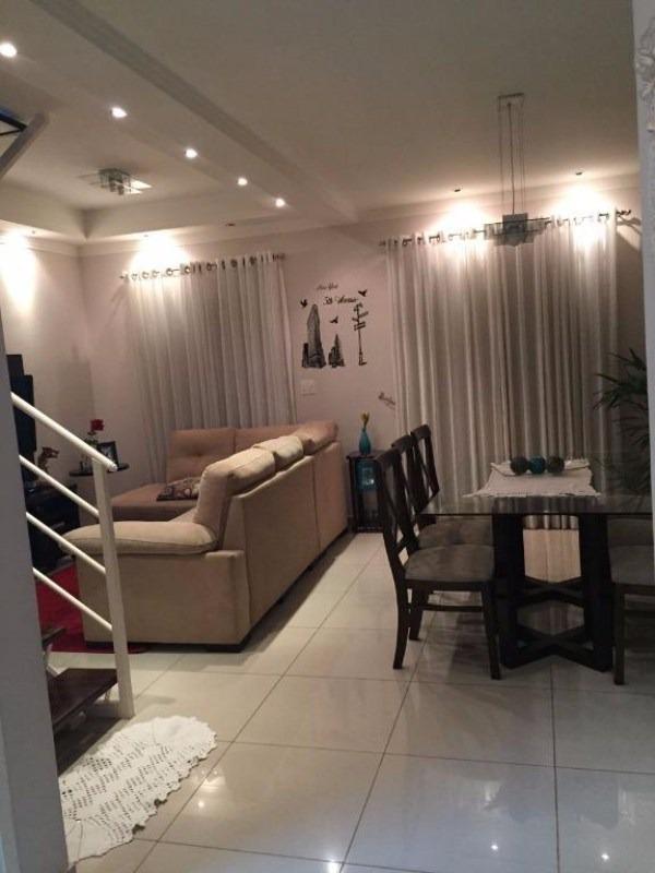lindo sobrado jundiai no residencial garden resort proximo unip de 83m2 3 dorms 1 suite com moveis planejados - so0092 - 33514968