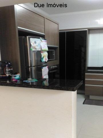lindo sobrado no condomínio belle ville itaycy, com 120m² de construção, num residencial de 26 casas, tranquilo, com segurança 24 horas e zelador. - ca01440 - 33753816