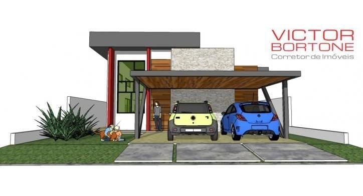 lindo sobrado novo condomínio veredas (em construção) - 441