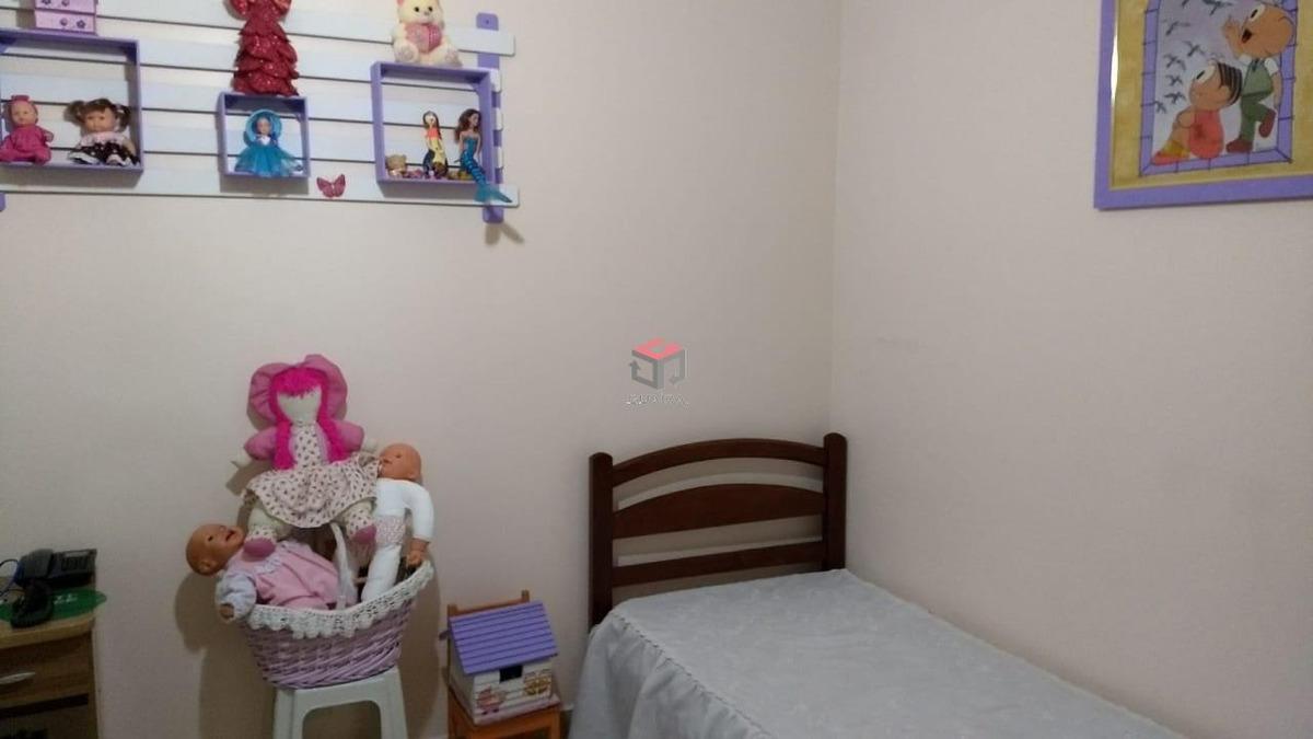 lindo sobrado à venda, 3 quartos, 3 suítes, 4 vagas cobertas, independência - sbc/sp - 80293