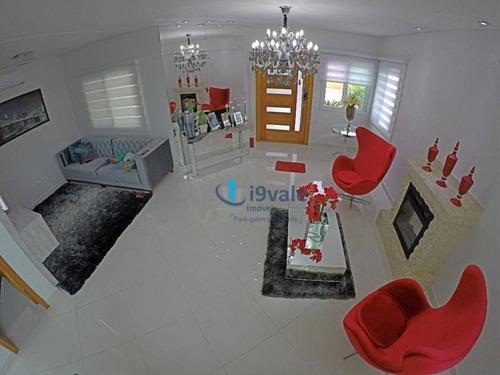 lindo sobrado à venda, condomínio fechado, urbanova, sjcampos-sp - ca0866