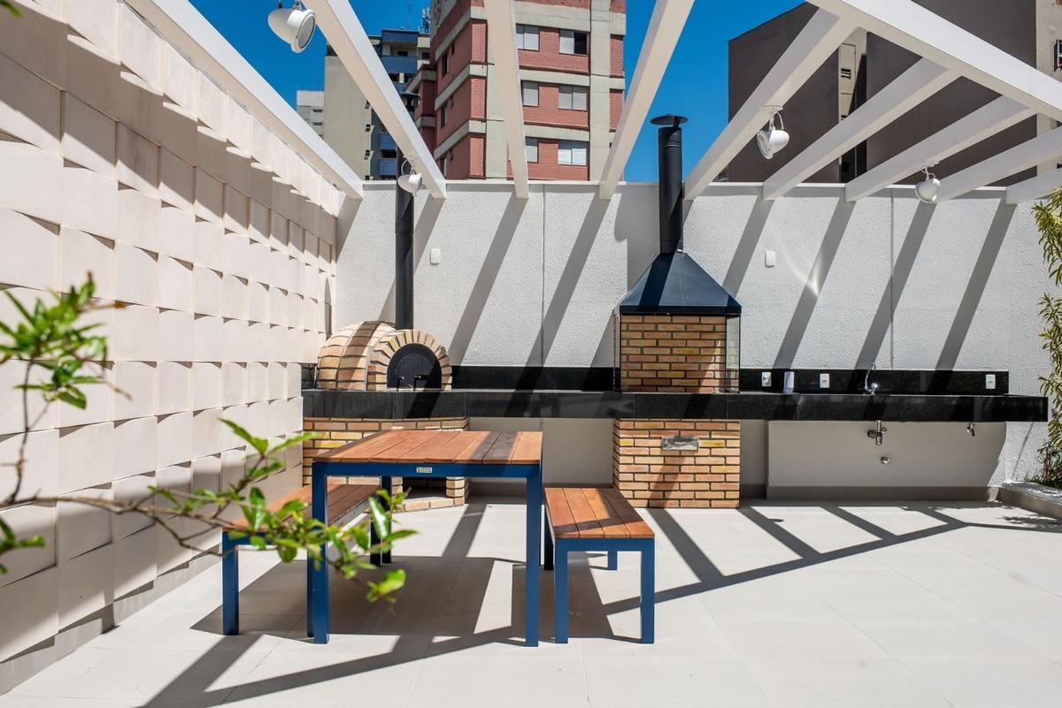 lindo stúdio na rua paim - mobiliado pronto para morar