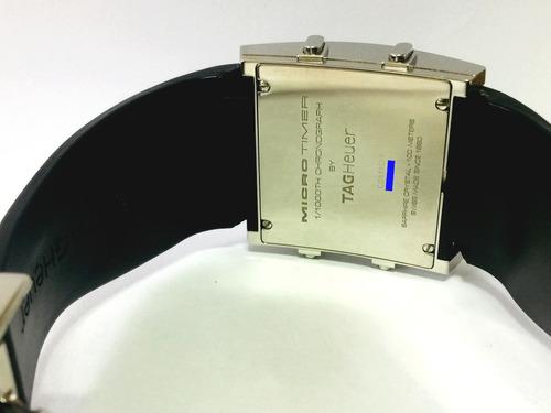 lindo tag heuer microtimer digital lcd revisado ref cs111c-1