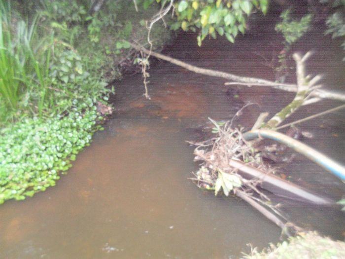 lindo terreno com rio nos fundos   47877 - 47877