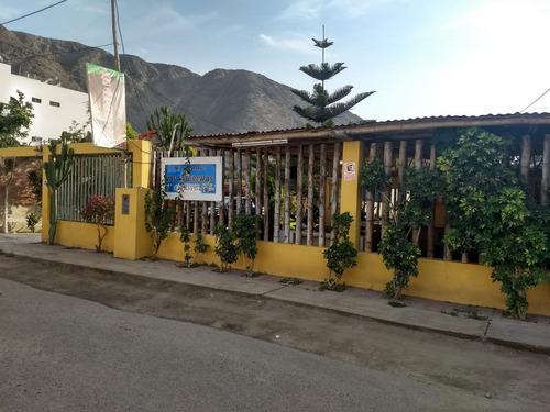 lindo terreno en lunahuaná a 4 cuadras de la plaza de armas
