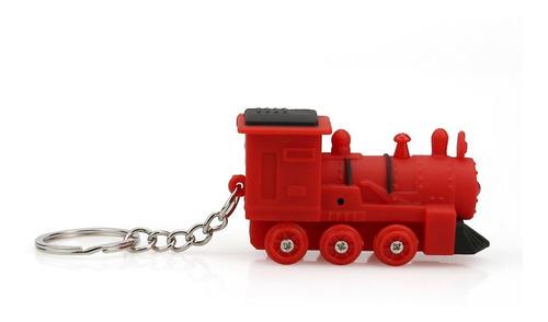 lindo tren llavero con luz led y sonido keyfob niños juguete