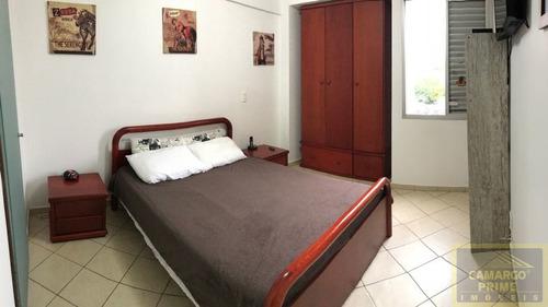 lindo três dormitórios, com duas vagas livres. - eb83341