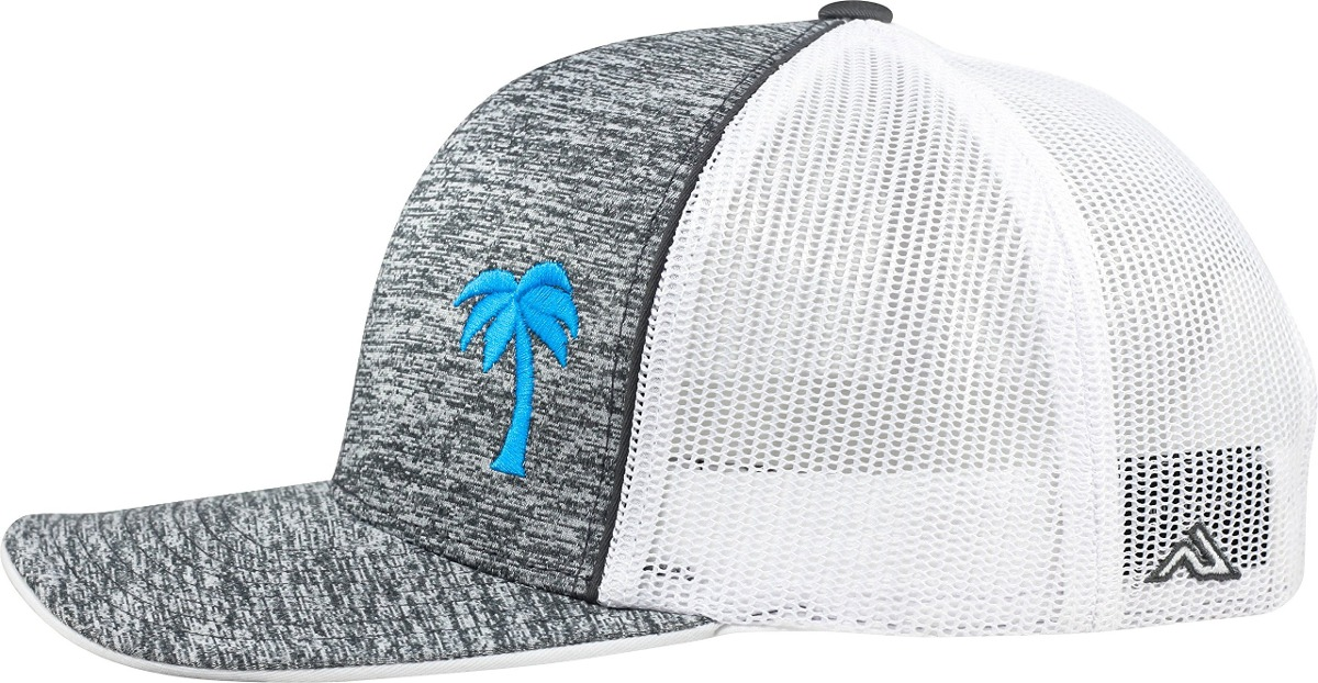 Lindo Trucker Hat Serie Palm Tree De Static Grey Aqua -   56.699 en Mercado  Libre 128be6993ac