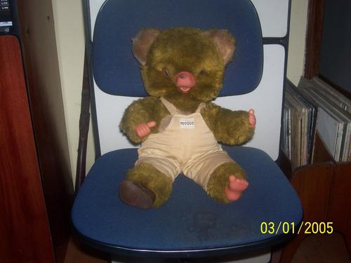 lindo urso de pelúcia peposo da devir anos 80 (01)