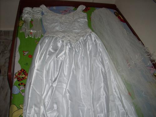 líndo vestido de novia...!!!