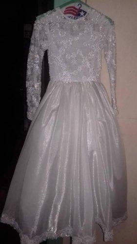 lindo vestido de primera comunión