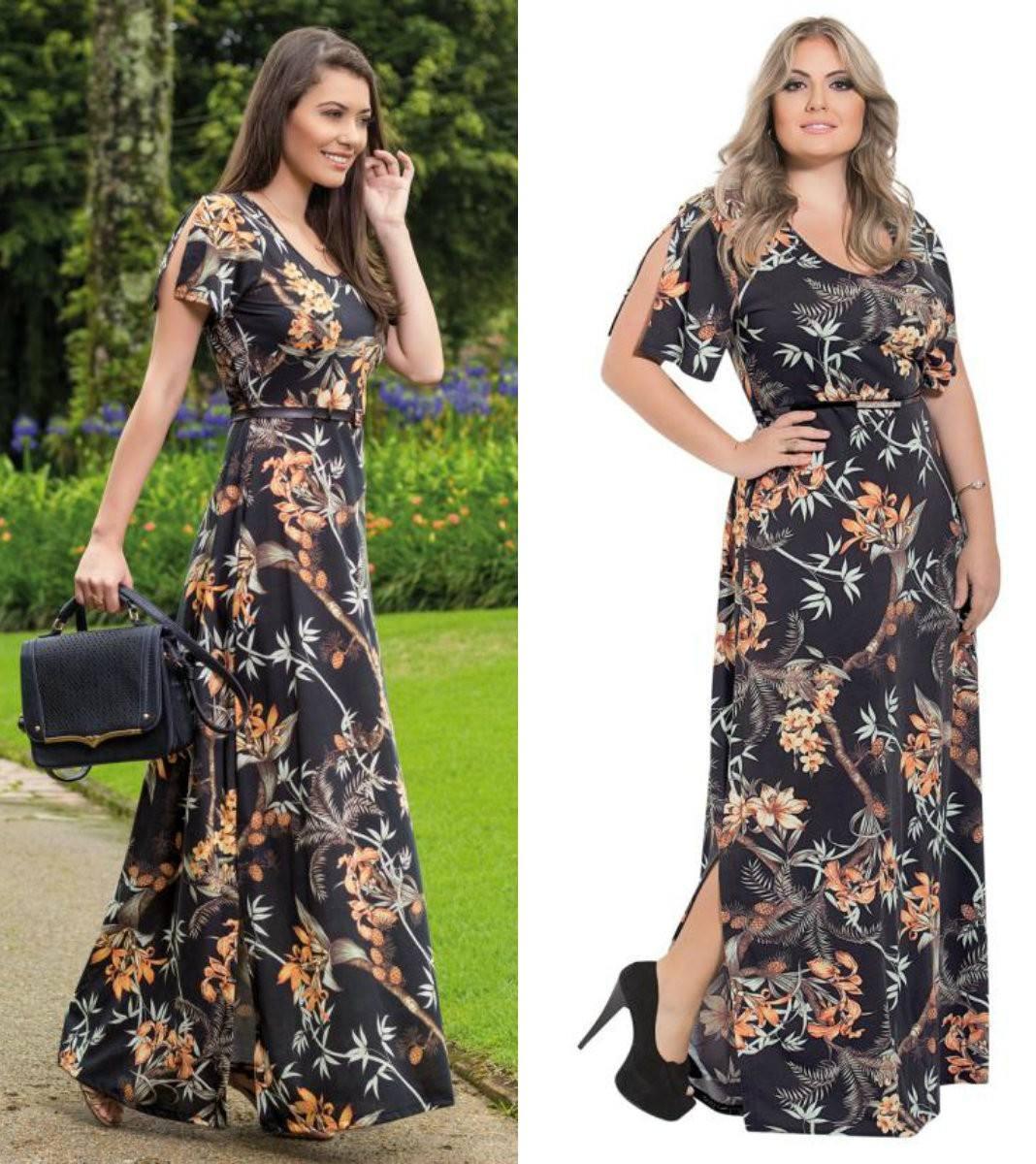 1aaf6af43 lindo vestido evangélico longo manga feminino roupa cristã. Carregando zoom.