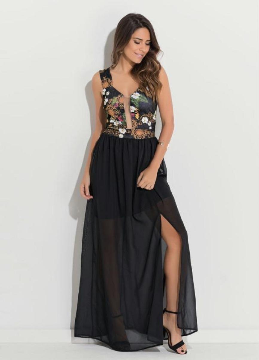 7b46a6ab0 lindo vestido festa plus size preto com tule ou rosa paete. Carregando zoom.