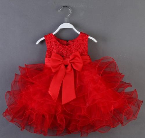 lindo vestido festa princesa casamento infantil roxo (luxo)