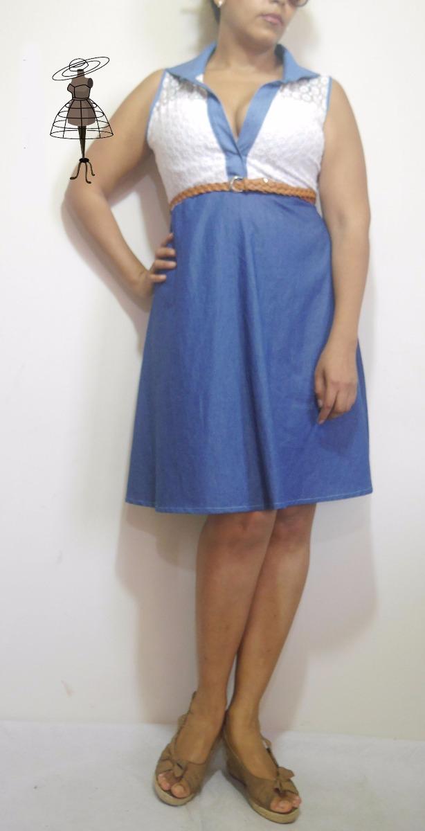 Lindo Vestido Juvenil De Verano Tallas Grandes S 120 00 En Mercado Libre