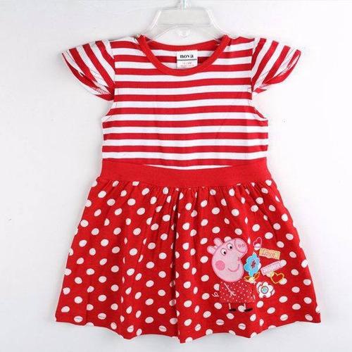 lindo vestido para niña super fashion