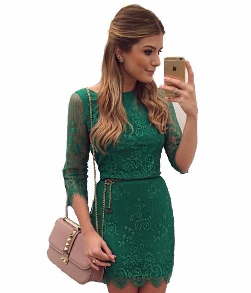 Vestidos verdes niСЂС–РІВ±a