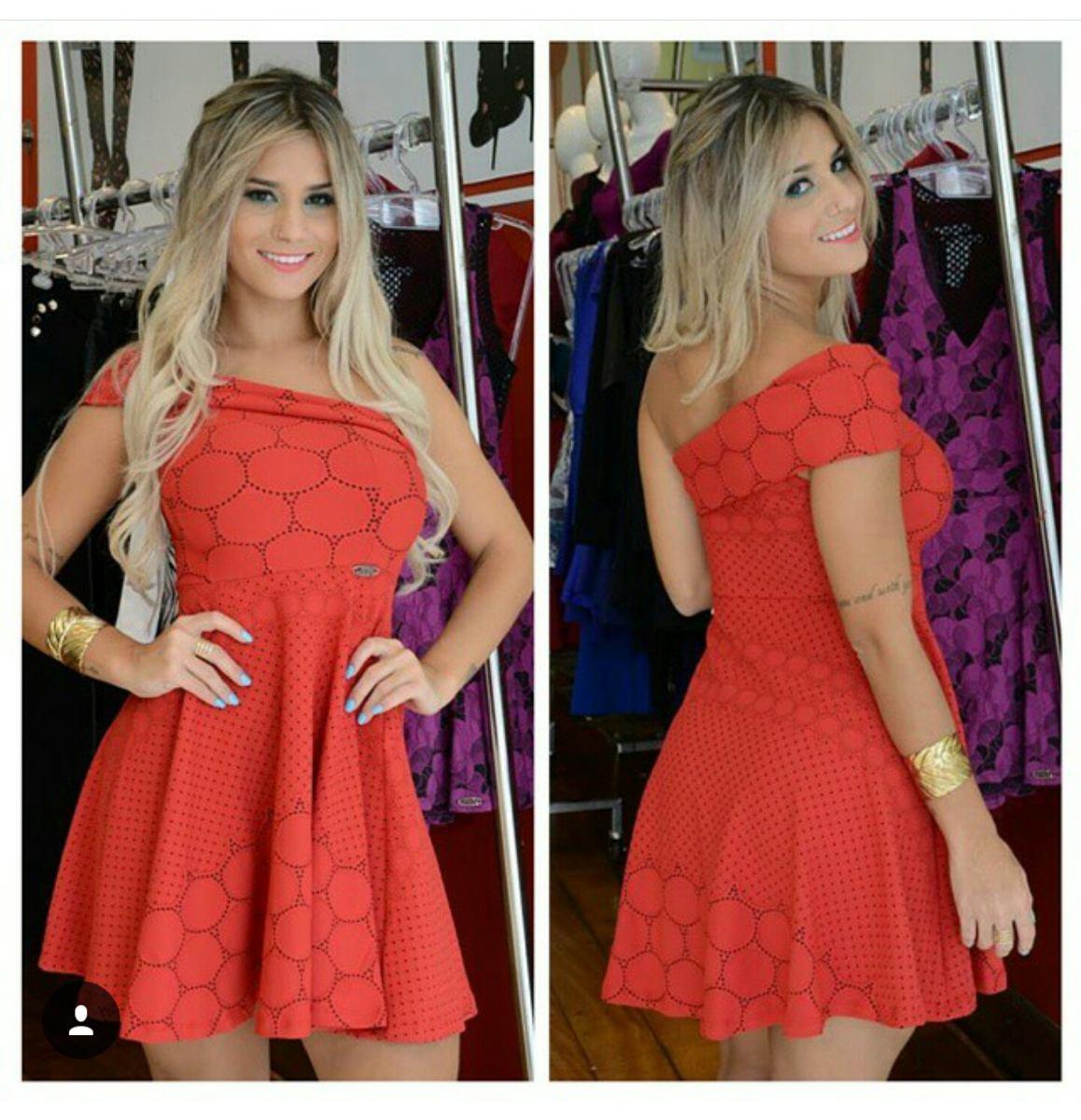 984d01b69c lindo vestido vermelho miss misses tamanho g  pronta entrega. Carregando  zoom.