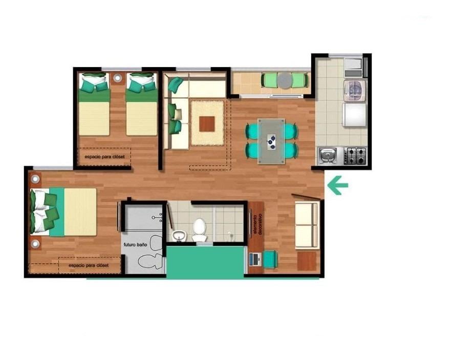 lindo y acogedor apartamento para estrenar