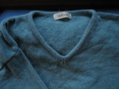 lindo y suave sweater chaleco celeste