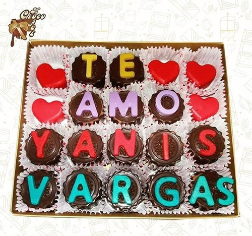 lindos chocolates el regalo que enamora - chocomensaje