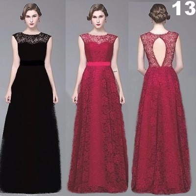 Lindos Modelos Vestidos Longo Renda Festas Casamentos Noite
