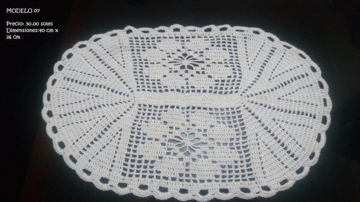 Lindos Tapetes Tejidos A Crochet Hechos A Mano S 15 00 En Mercado  -> Tapetes Para Sala Tejidos A Crochet
