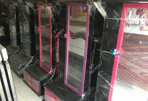lindos tocadores con luz led y espacio organizador. $ 259