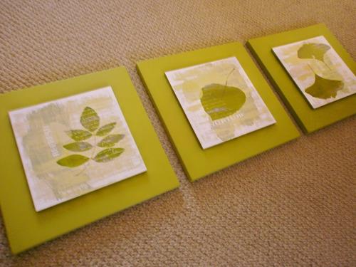 lindos tripticos para decorar tu casa!!