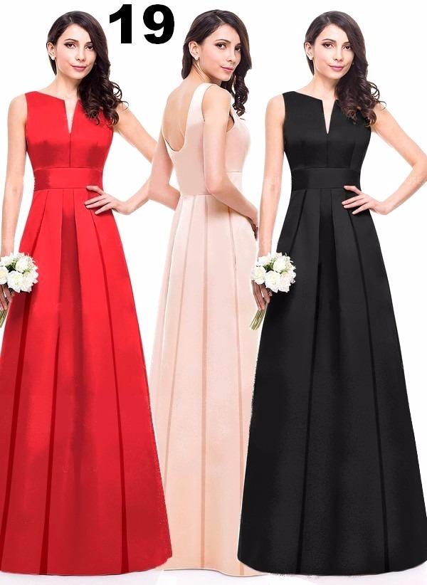 a9c9e4861b lindos vestidos em cetim com renda pregas- festa casamento. Carregando zoom.