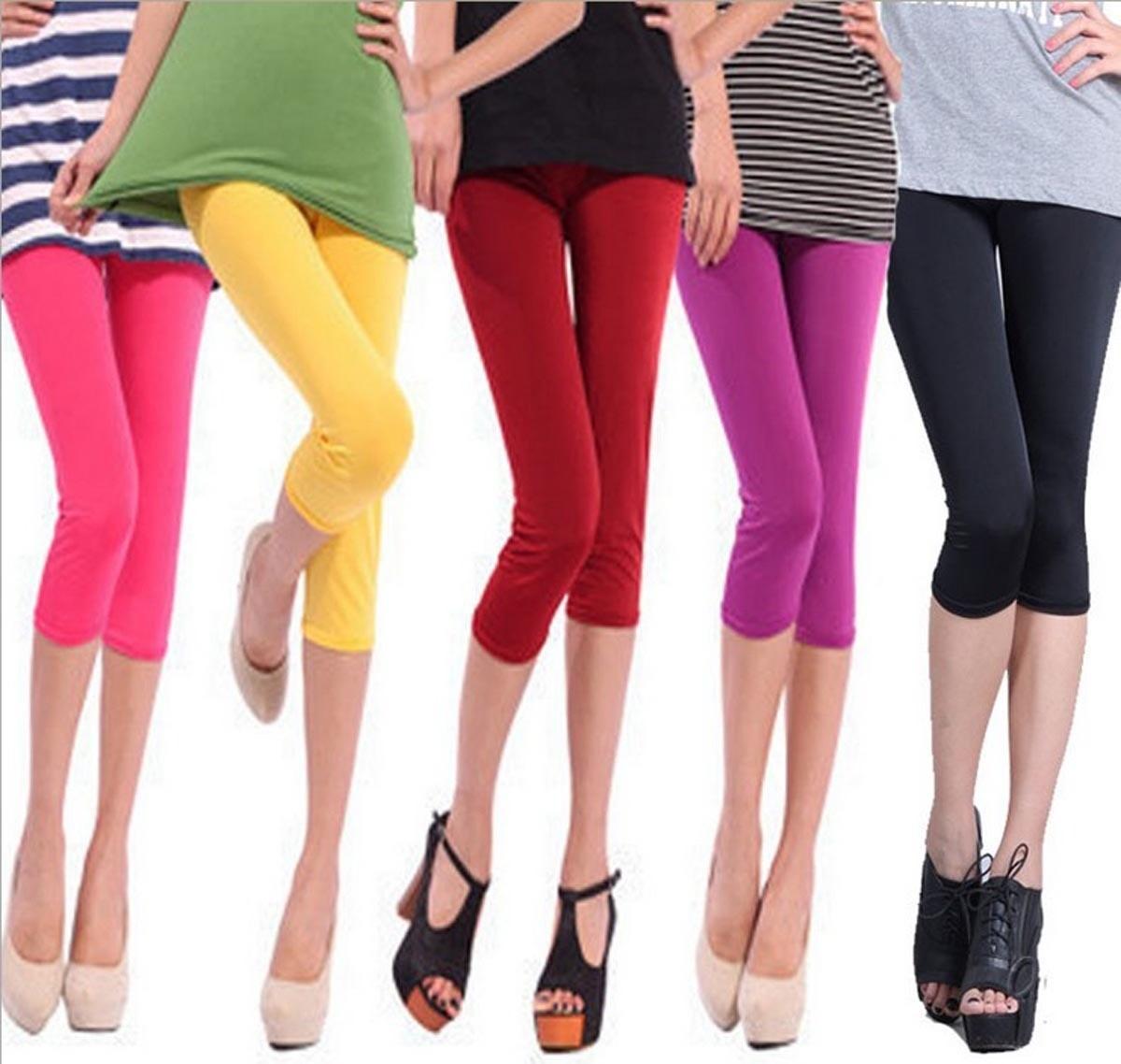 51d4c9c37 Lindos Y Sexys Leggings Cortos De Varios Colores - $ 175.00 en ...