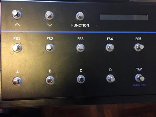 line 6 fbv 3 controlador de amplificador /procesador efectos