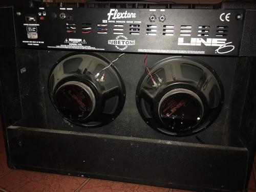line 6 flextone xl amplificador  guitarra + floorboard 100w