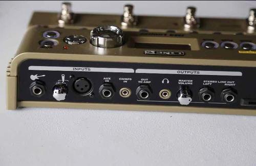 line 6 jm4 looper y procesador de efectos para guitarra
