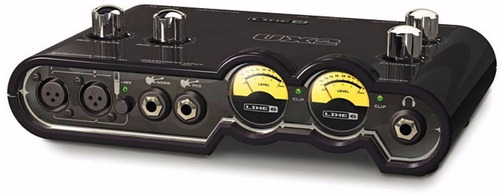 line 6 pod studio ux2 interfaz de audio externa pod farm