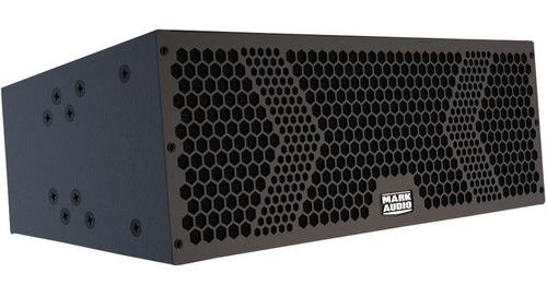 line array ativo 6 pol mark audio 500w rms somos loja