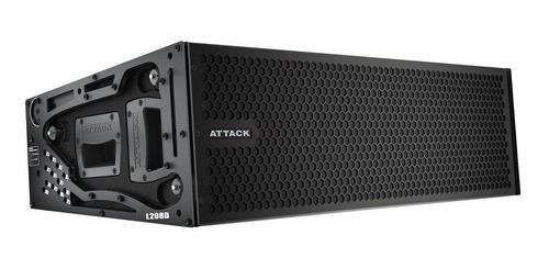 line array ativo fal 2x8 pol 1350w vertcon l 208 d - attack