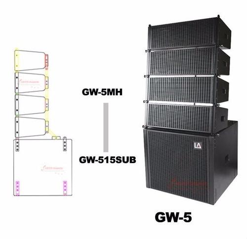 line array! caixas