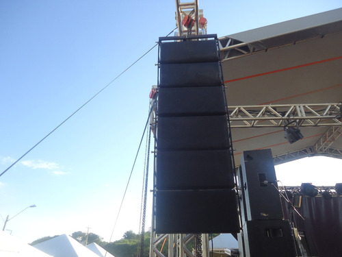 line array gabinete s 08 kraft @