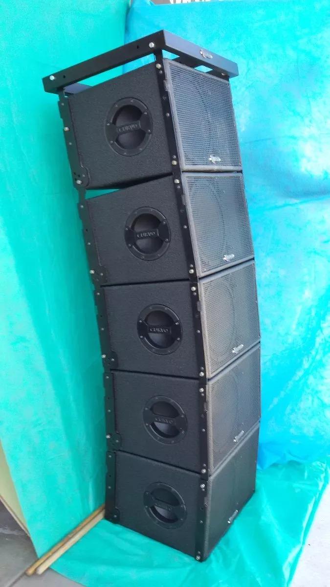 b71372ec680 Line Array Original Curvo   Eighteensound 212 Comp Italianos ...