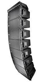 line array rcf hdl20 700 wts autoamplificado