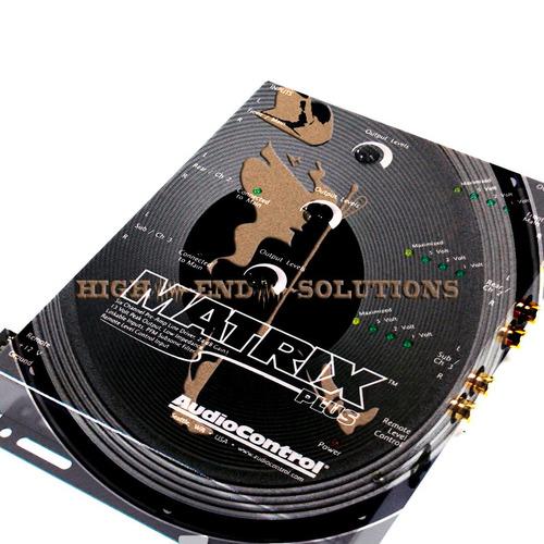 line driver audiocontrol matrix plus (procesador)
