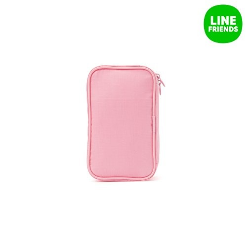 LINE FRIENDS Choco Travel Pouch One Size Pink