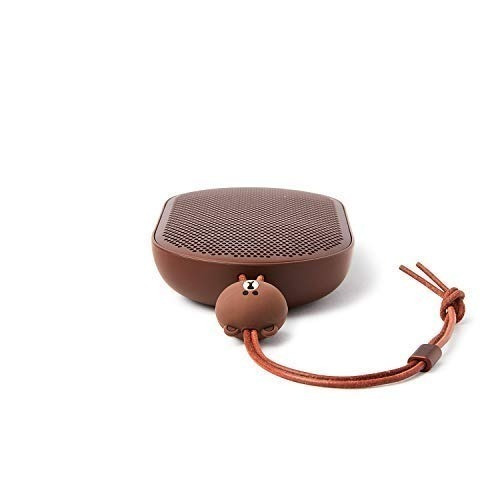 line friends x bang & olufsen beoplay p2 brown limited editi