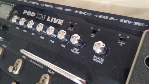 line6 pod x3 live para partes o reparar