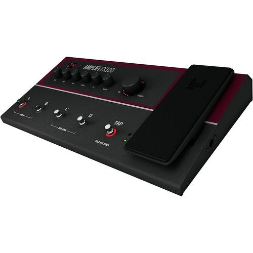 línea 6 pedal de efectos múltiples amplifi fx100 con tono